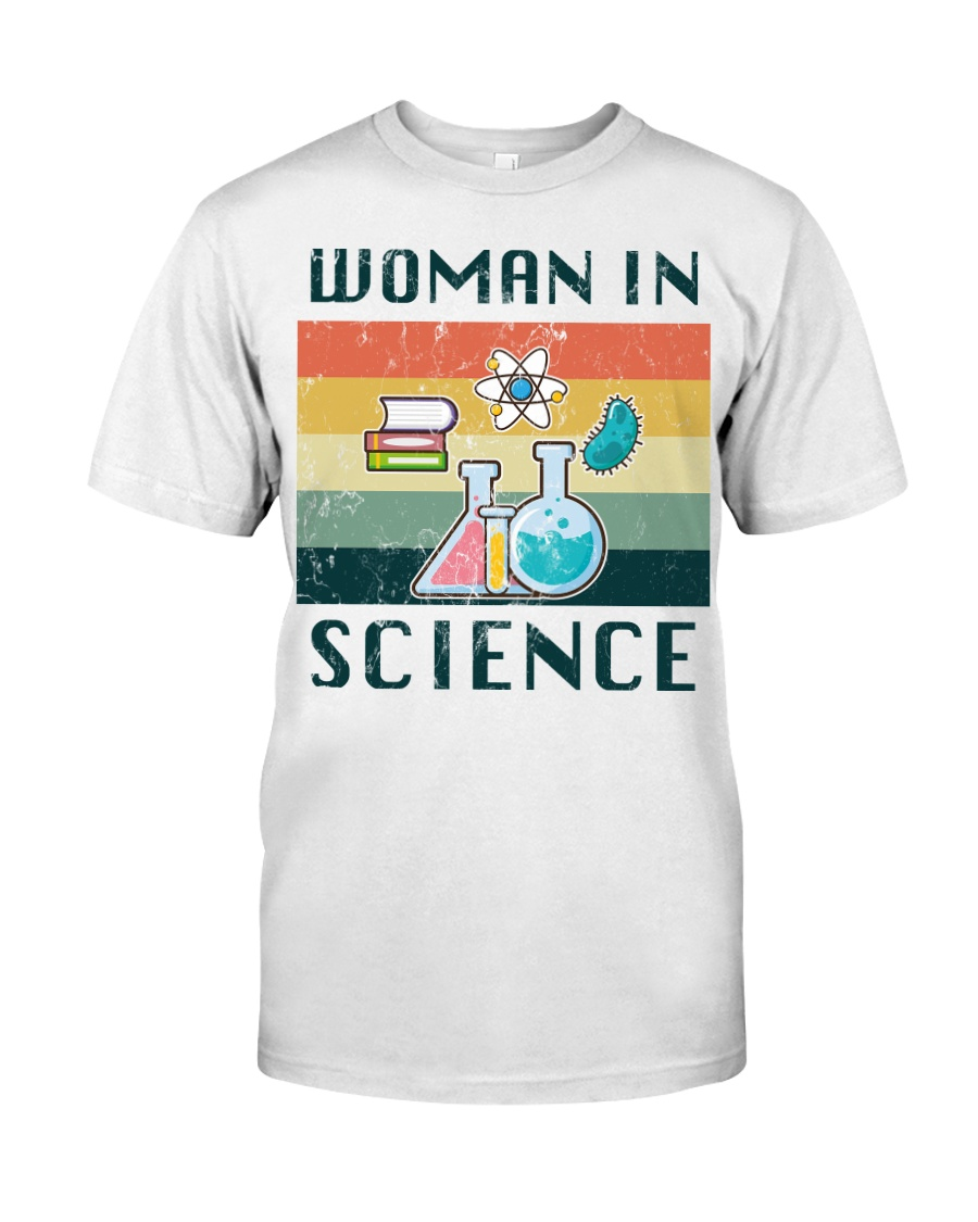 Woman in Science Classic T-Shirt