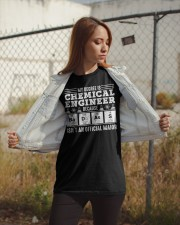 My degree is chemical engineer Classic T-Shirt apparel-classic-tshirt-lifestyle-07