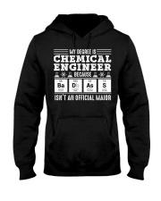 My degree is chemical engineer Hooded Sweatshirt thumbnail