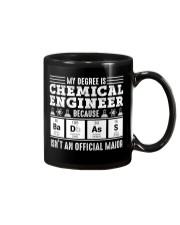 My degree is chemical engineer Mug thumbnail