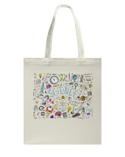 Science of icons set Tote Bag tile