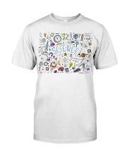 Science of icons set Classic T-Shirt thumbnail