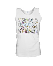 Science of icons set Unisex Tank thumbnail