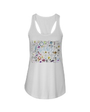 Science of icons set Ladies Flowy Tank thumbnail