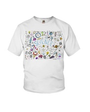 Science of icons set Youth T-Shirt thumbnail