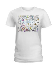 Science of icons set Ladies T-Shirt thumbnail