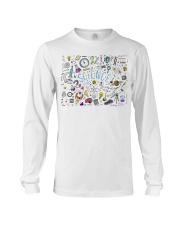 Science of icons set Long Sleeve Tee thumbnail