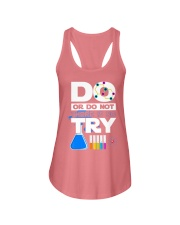 Do Or Do Not There Is No Try Ladies Flowy Tank thumbnail