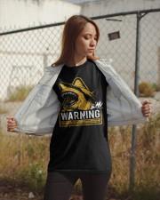 Shark warning Classic T-Shirt apparel-classic-tshirt-lifestyle-07