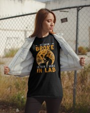 My broom broke so now I work in lab Classic T-Shirt apparel-classic-tshirt-lifestyle-07