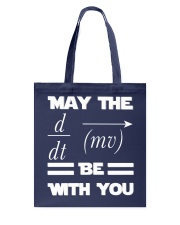May the force be with you Tote Bag thumbnail