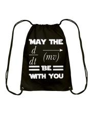 May the force be with you Drawstring Bag thumbnail