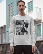 Who says that Alcohol Long Sleeve Tee apparel-long-sleeve-tee-lifestyle-03