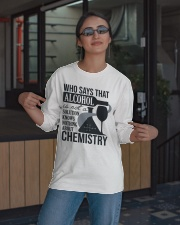 Who says that Alcohol Long Sleeve Tee apparel-long-sleeve-tee-lifestyle-08