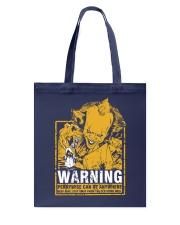 Pennywise Warning Tote Bag thumbnail