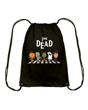 The dead Drawstring Bag thumbnail