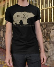 Be greater than the average bear Classic T-Shirt apparel-classic-tshirt-lifestyle-21