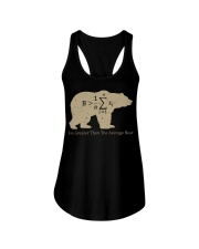 Be greater than the average bear Ladies Flowy Tank thumbnail