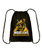 Leatherface Warning Drawstring Bag thumbnail