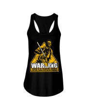 Leatherface Warning Ladies Flowy Tank thumbnail