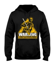 Leatherface Warning Hooded Sweatshirt thumbnail