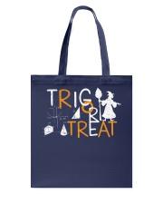 Trig or treat Tote Bag thumbnail