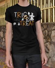 Trig or treat Classic T-Shirt apparel-classic-tshirt-lifestyle-21
