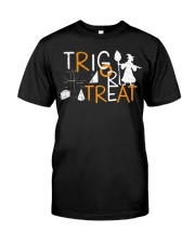 Trig or treat Classic T-Shirt front