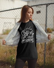 Coffee and citizen science Classic T-Shirt apparel-classic-tshirt-lifestyle-07