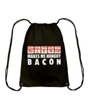 Bacon hungry Drawstring Bag thumbnail
