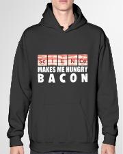 Bacon hungry Hooded Sweatshirt garment-hooded-sweatshirt-front-04