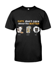 Cats don't care about the matter Classic T-Shirt thumbnail
