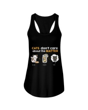 Cats don't care about the matter Ladies Flowy Tank thumbnail