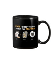 Cats don't care about the matter Mug thumbnail