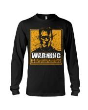 Frankenstein Warning Long Sleeve Tee thumbnail
