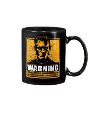 Frankenstein Warning Mug thumbnail