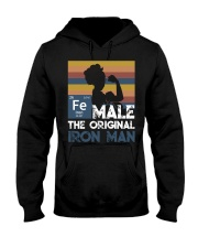 Female - ironman Hooded Sweatshirt thumbnail