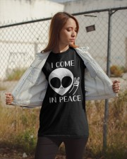 I Come In Peace Classic T-Shirt apparel-classic-tshirt-lifestyle-07