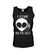 I Come In Peace Unisex Tank thumbnail