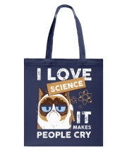 I love science Tote Bag thumbnail