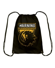 Gozdila warning Drawstring Bag thumbnail