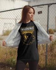 Gozdila warning Classic T-Shirt apparel-classic-tshirt-lifestyle-07