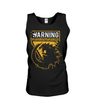 Gozdila warning Unisex Tank tile