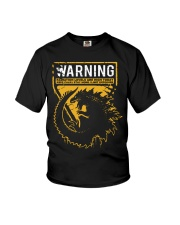 Gozdila warning Youth T-Shirt thumbnail