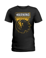 Gozdila warning Ladies T-Shirt thumbnail