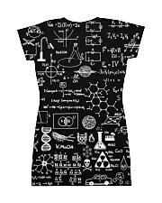 Science formulas on chalkboard All-over Dress back