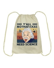 Einstein Need Science Drawstring Bag thumbnail