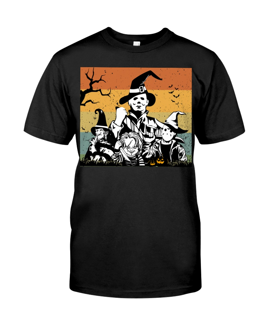 Halloween witch horror Classic T-Shirt