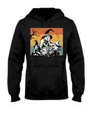 Halloween witch horror Hooded Sweatshirt thumbnail