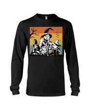 Halloween witch horror Long Sleeve Tee thumbnail
